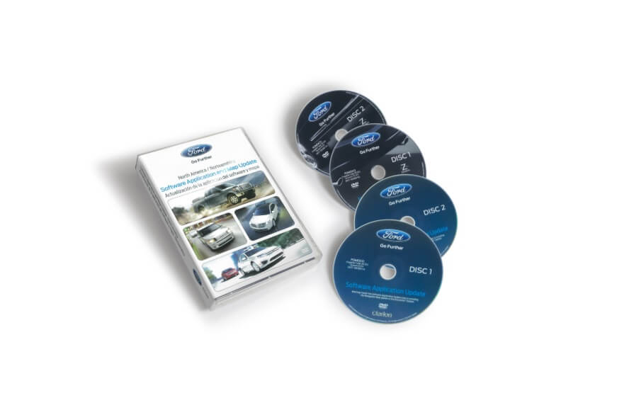 Ford / Lincoln / Mercury - North America Map Update - V11.0x - Includes Gracenote® Disc product photo